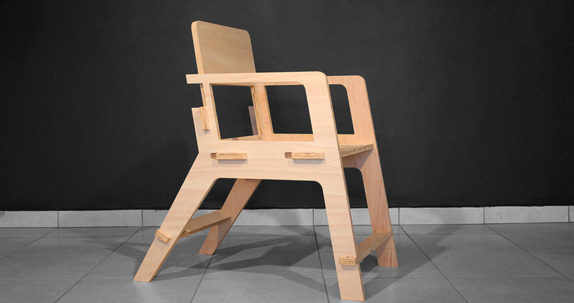 Fabhub forest design router cnc for 80s chair design